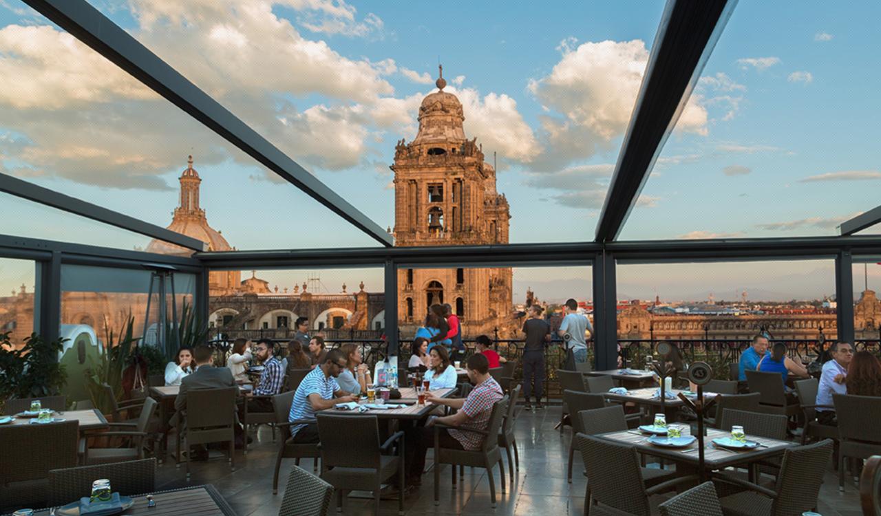 7 terrazas en el Centro Histórico de la Ciudad de México para disfrutar en verano