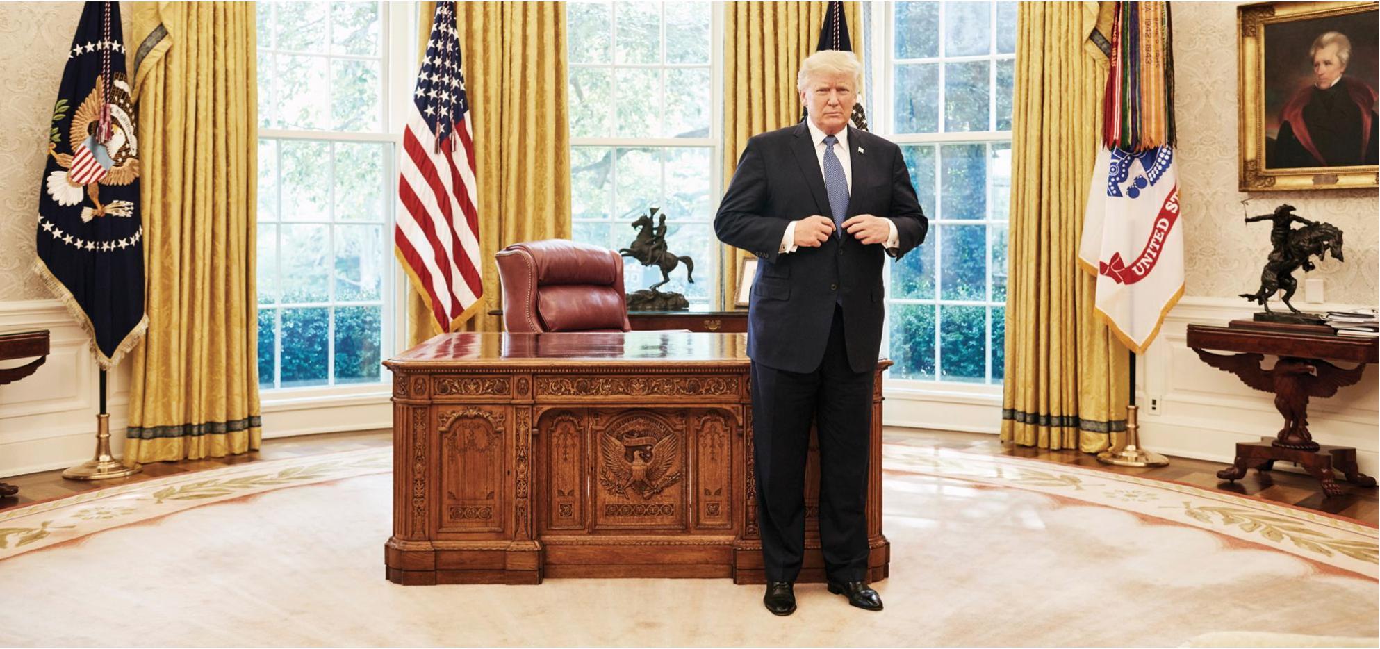 Donald Trump. (Foto: Jamel Toppin/Forbes.)
