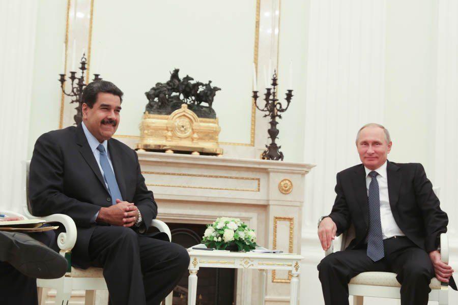 Maduro agradece a Putin por respaldo en tiempos difíciles