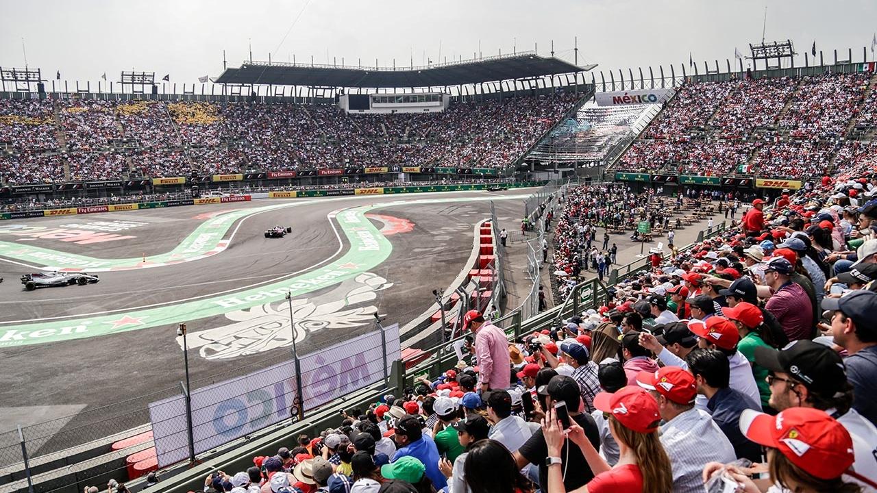 El Gran Premio de Fórmula 1 dejará Ciudad de México en 2020