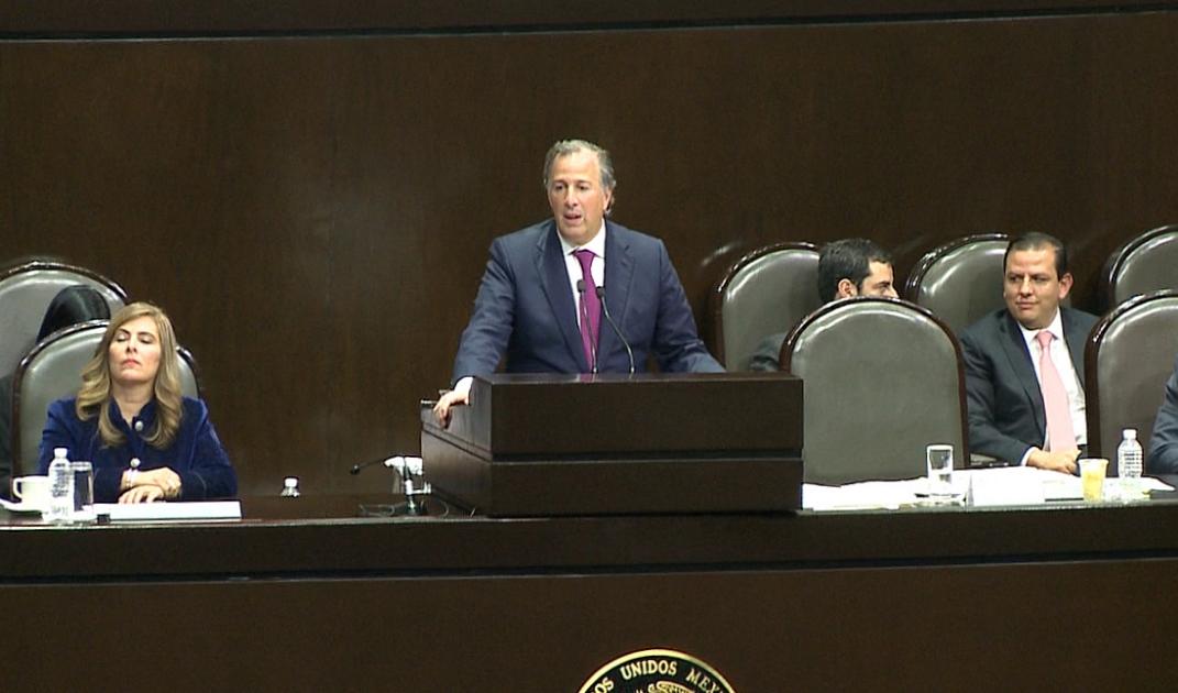 Diputados cuestionan a Meade por deuda, aumento de gasto y Fonden
