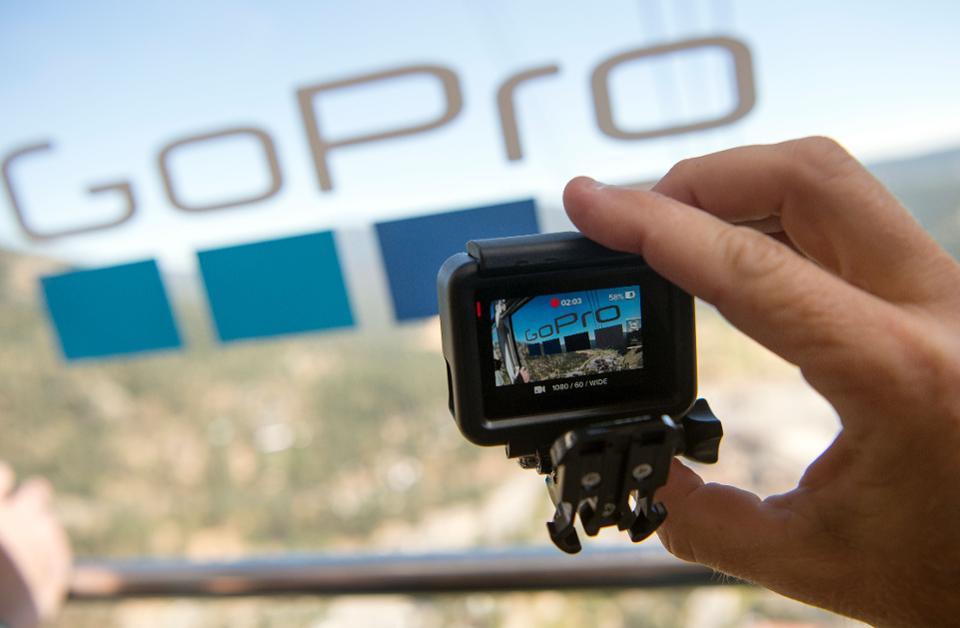 GoPro considera venderse y contrata a JP Morgan para el proceso