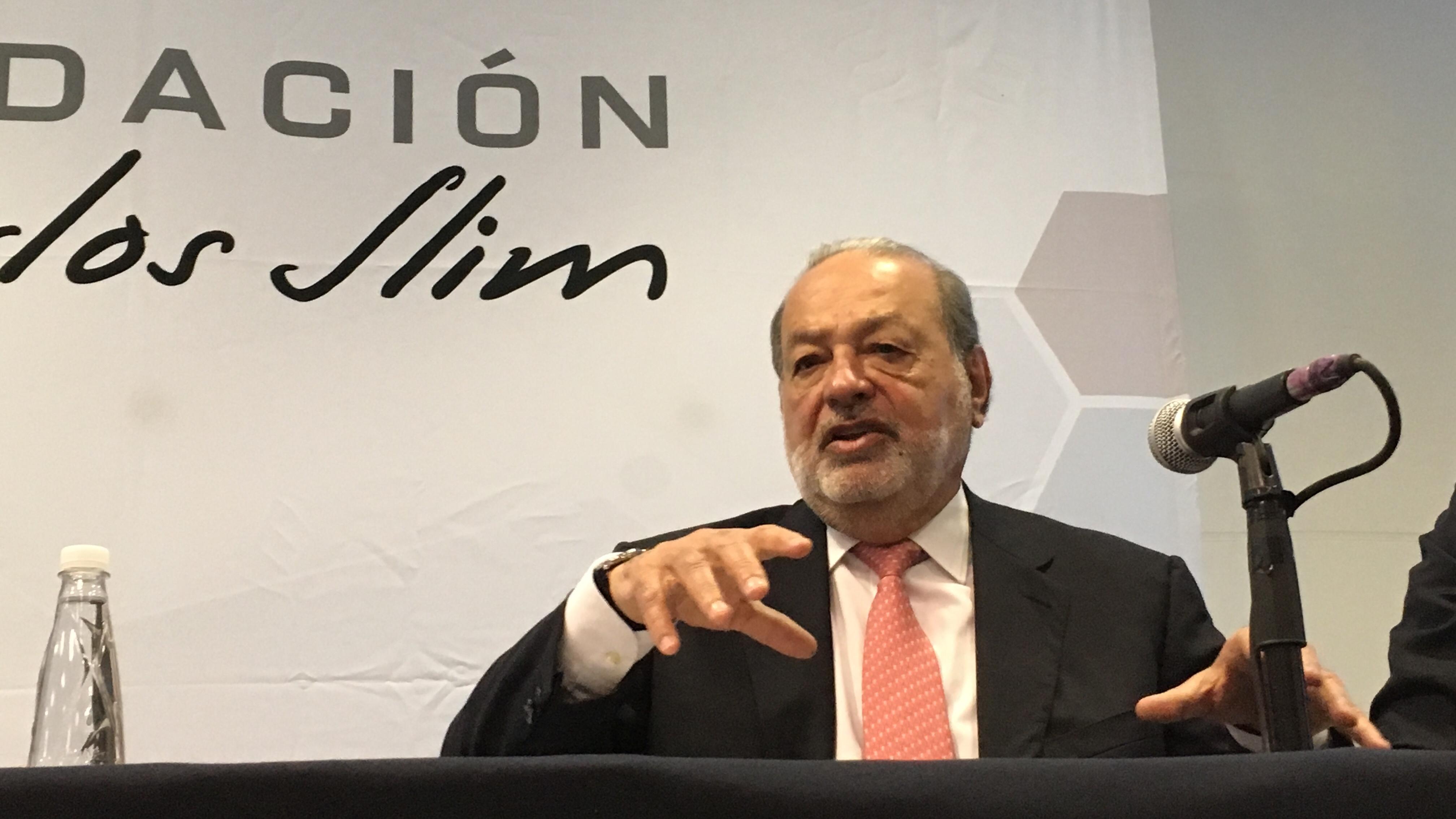 Fundación Carlos Slim dona 1,000 mdp a institutos de salud por coronavirus