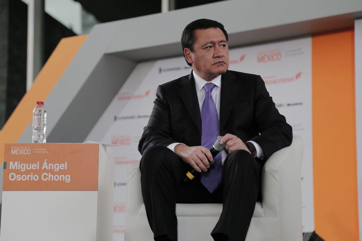 Negociación del TLCAN, trato entre iguales: Osorio Chong