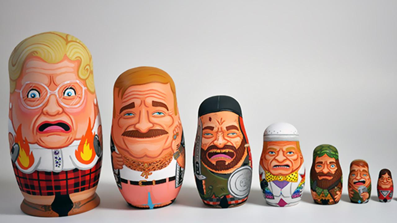 El juego de las Muñecas Rusas a la mexicana