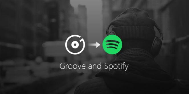 Microsoft ofrecerá Spotify a sus clientes de Groove Music Pass