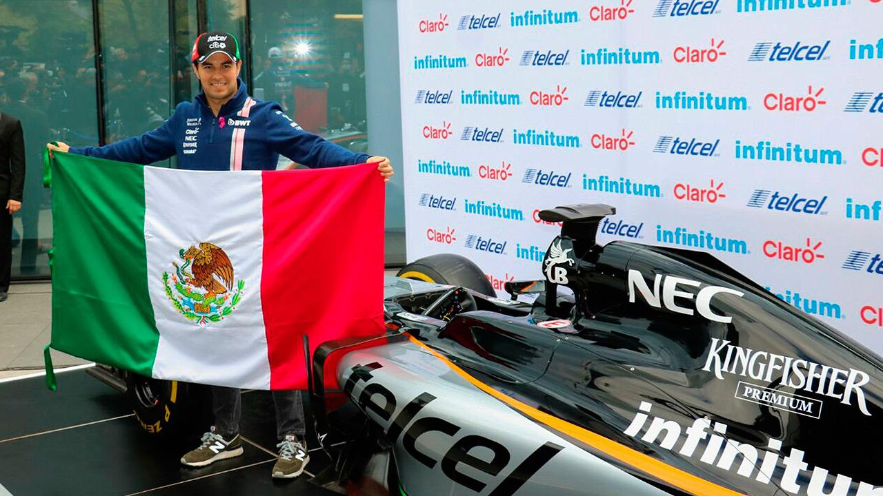 El Gran Premio muestra un México de primer mundo: 'Checo' Pérez
