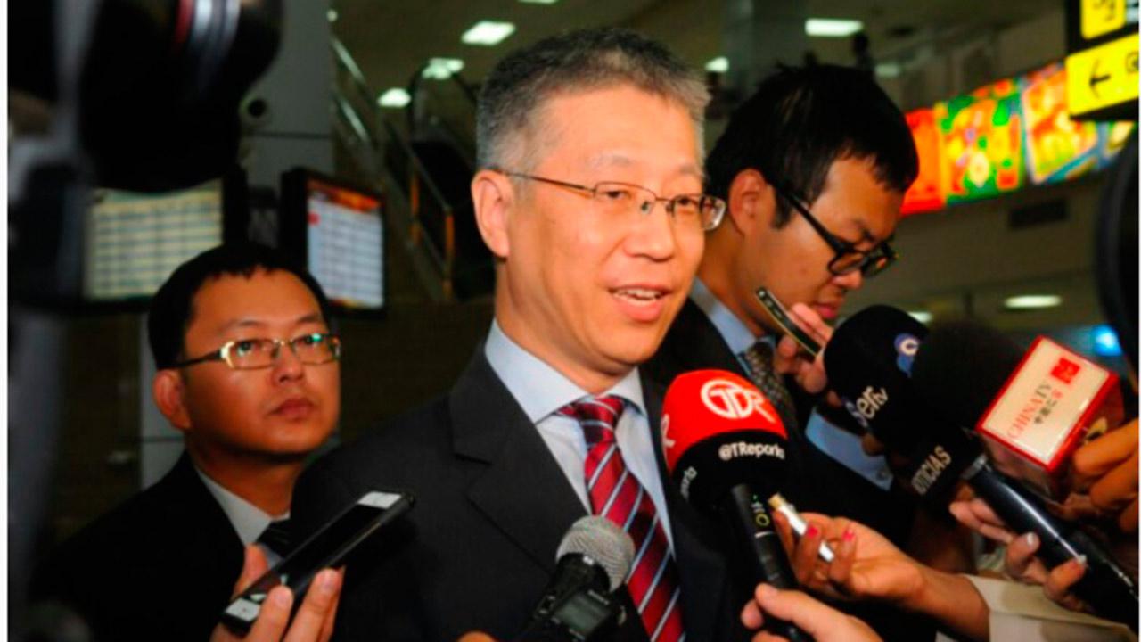Nuevo embajador de China llega a Panamá