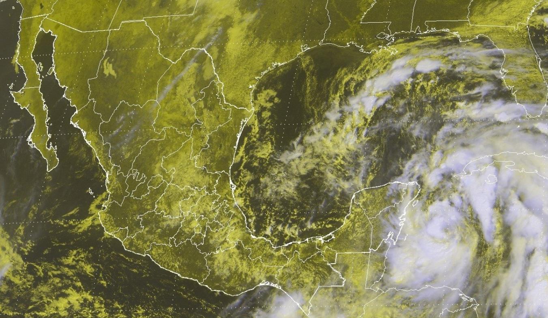 Tormenta Nate se dirige a la península de Yucatán