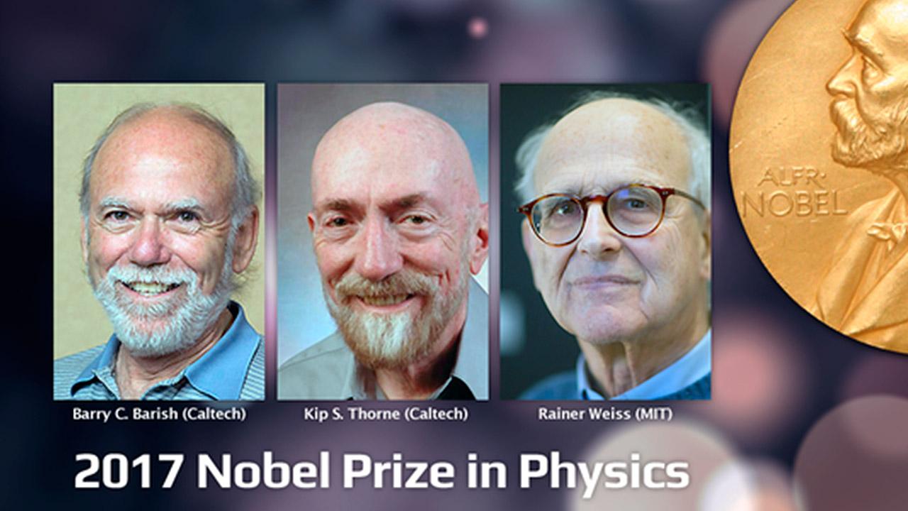 Nobel de Física para investigadores de ondas gravitacionales