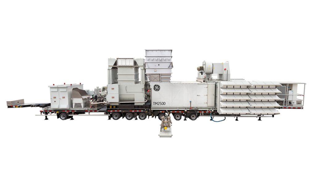 planta de energía TM2500 GE