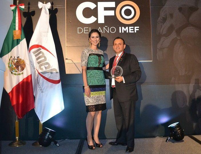 IMEF premia a Juan Pablo Sánchez Kanter como CFO del año
