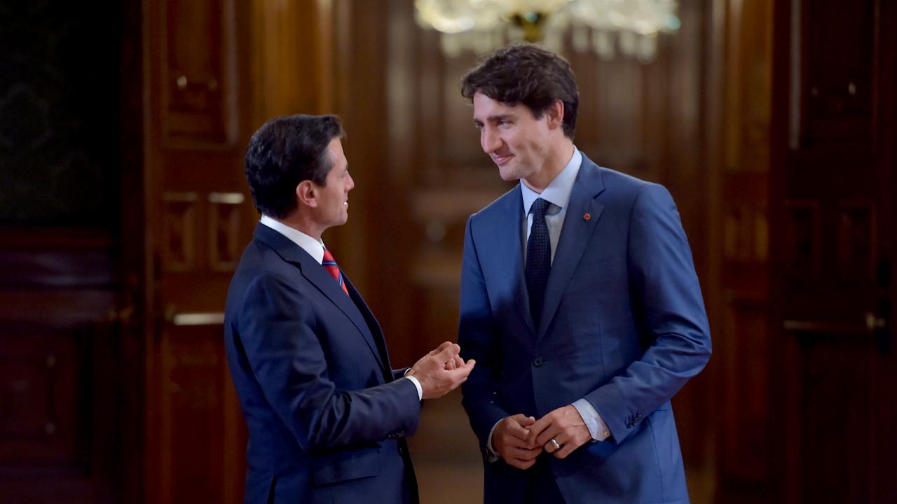 Peña Nieto y Trudeau abordaron temas de agenda bilateral vía telefónica