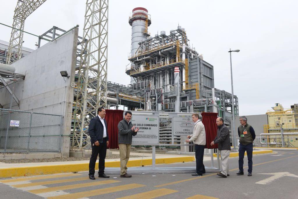 CFE inaugura central eléctrica de 270 mdd en Ensenada