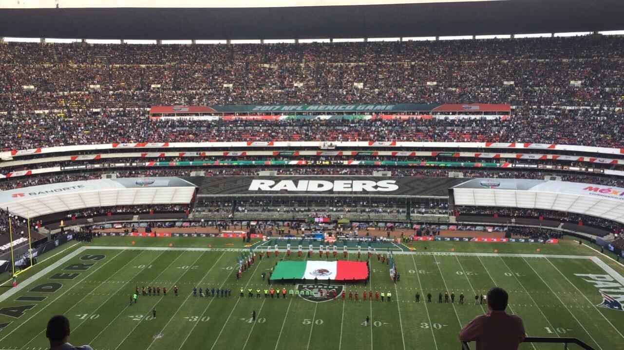 La NFL visitará México cada año hasta el 2021