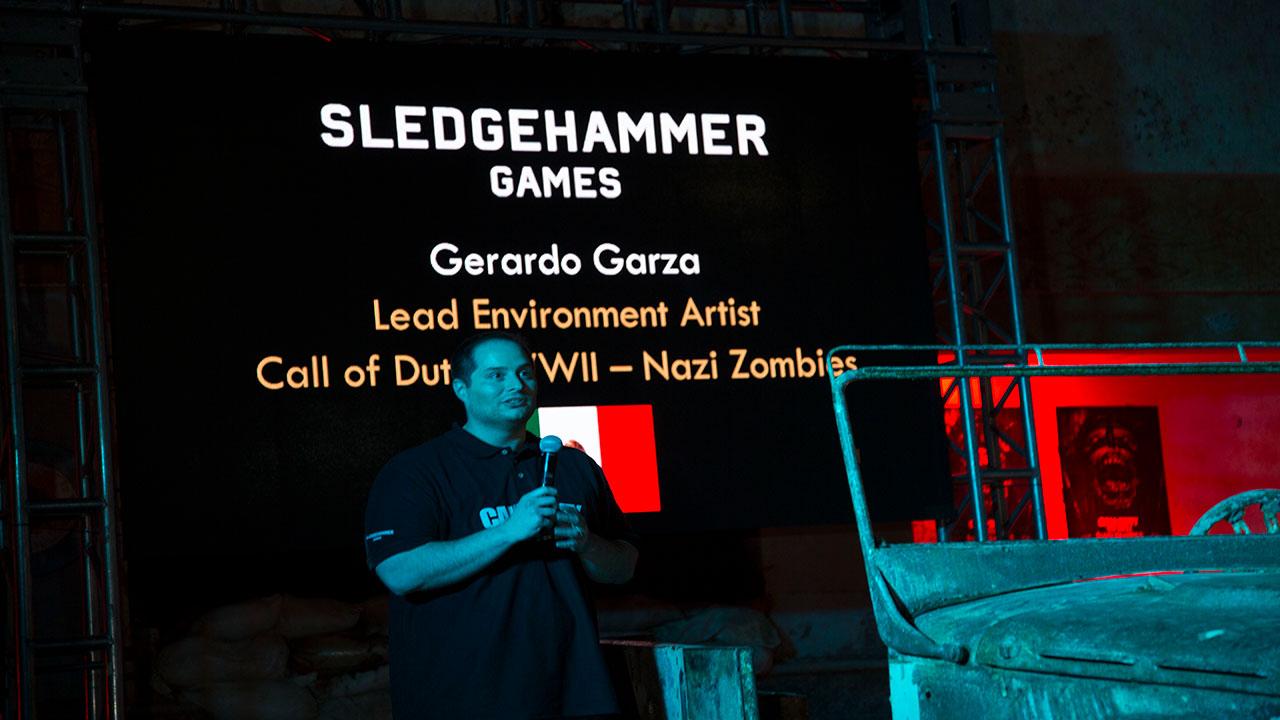 El mexicano detrás del modo zombie de Call of Duty: WWII