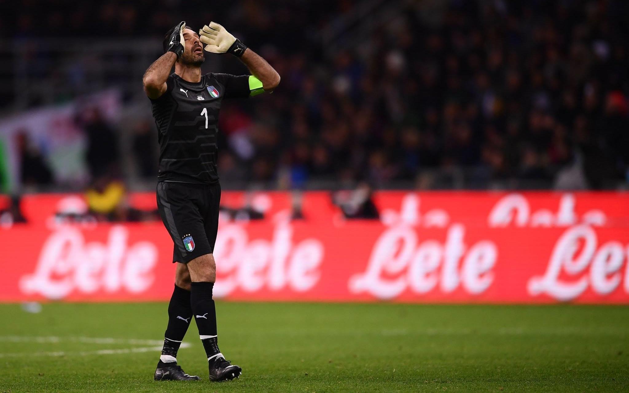 Italia se queda fuera del Mundial por primera vez desde 1958