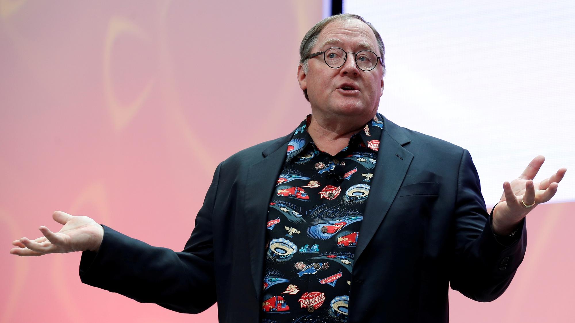 Lasseter toma licencia en Pixar y Disney por gestos inapropiados