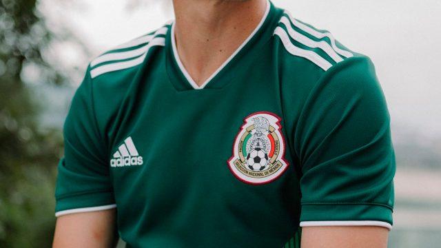 aabf92e08b312 Playera de la Selección Mexicana para el Mundial de Rusia 2018. (Foto   Cortesía de Adidas.)