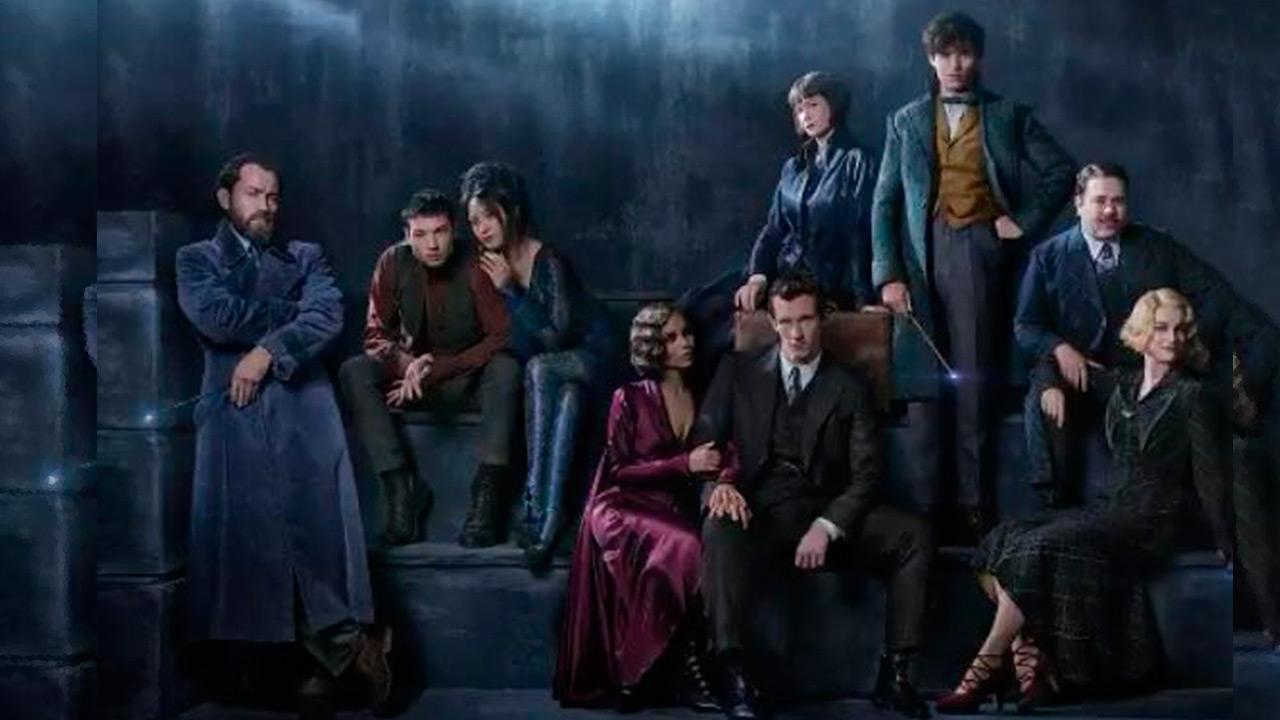 Warner Bros revela primera imagen del elenco de 'Animales Fantásticos 2'