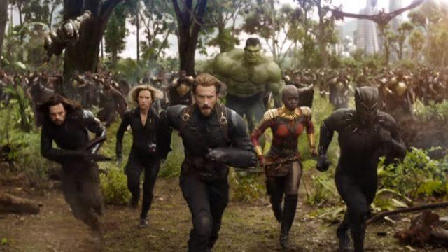 avengers infitiny war