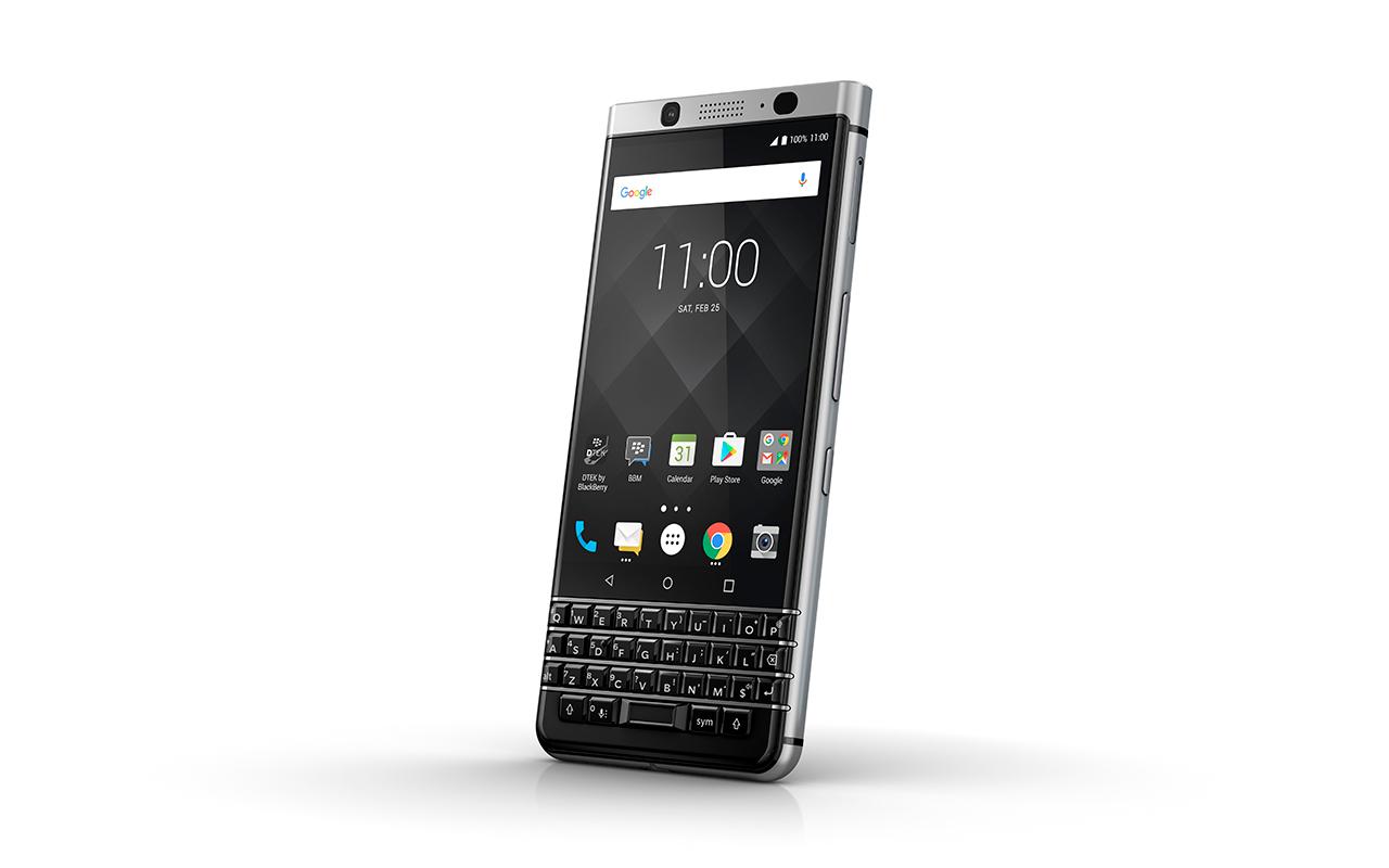 BlackBerry trae a México su KEYone con teclado físico