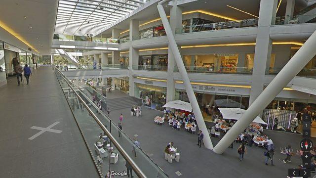 centro comercial-street view-google