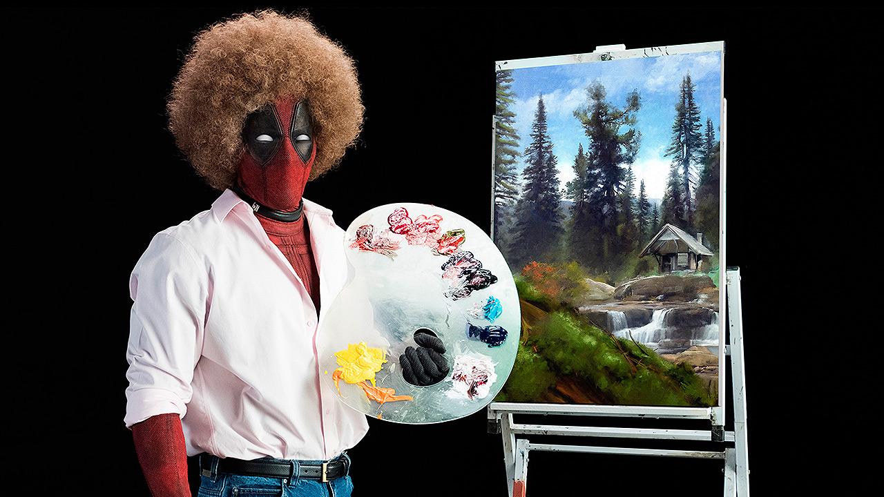 Al estilo de Bob Ross presentan primer teaser de 'Deadpool 2'