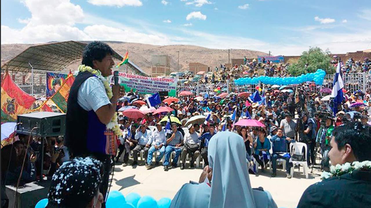 Evo Morales expondrá el modelo económico boliviano en Dubái