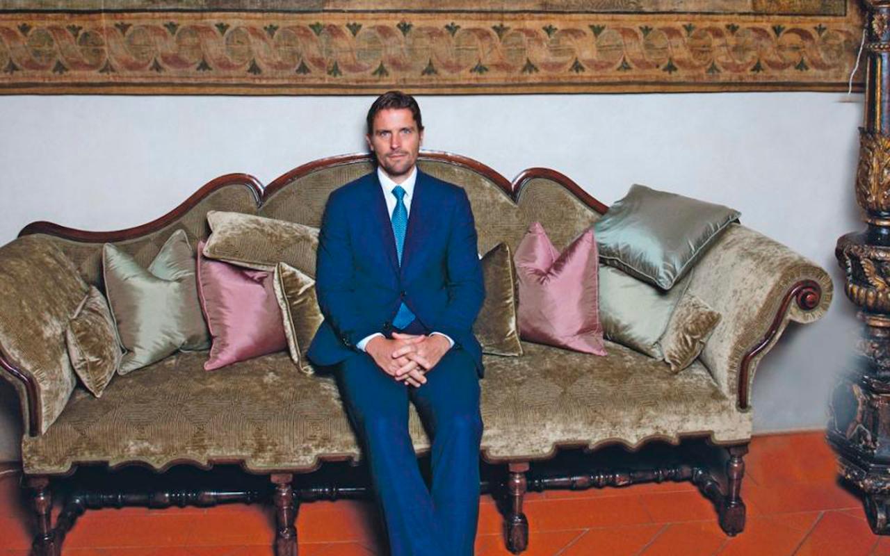 James Ferragamo, el heredero del imperio (y el estilo) italiano