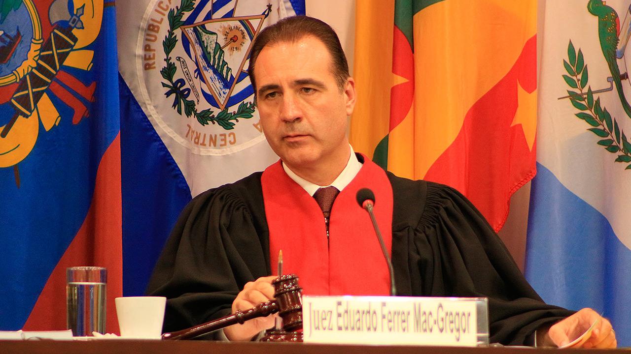 Juez mexicano es elegido presidente de la Corte IDH