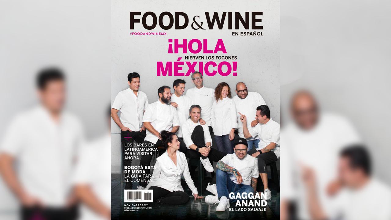 Food & Wine, la mayor autoridad en comida y bebida, llega a México