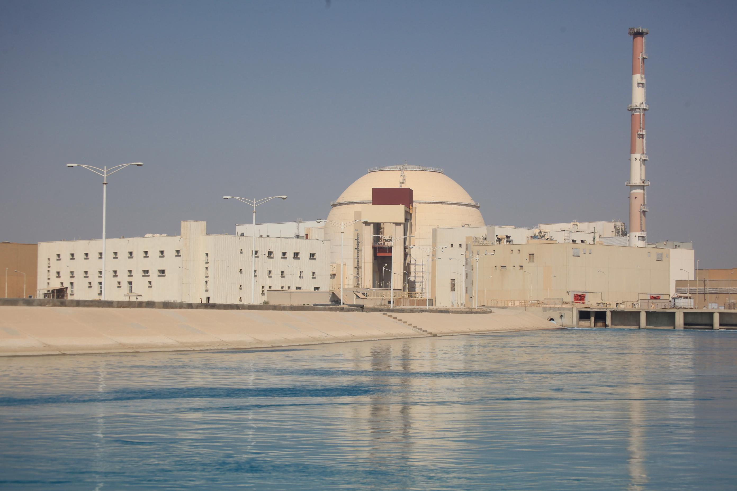 Irán y Rusia comienzan construcción de nuevo reactor nuclear
