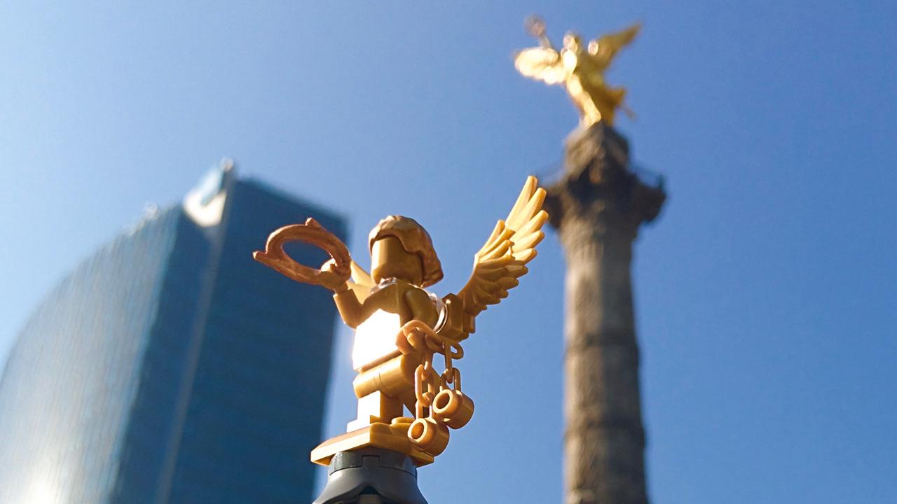 El Ángel de la Independencia puede ser un set oficial de Lego