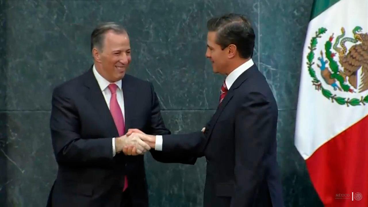 Meade se va de Hacienda; Peña designa a González Anaya