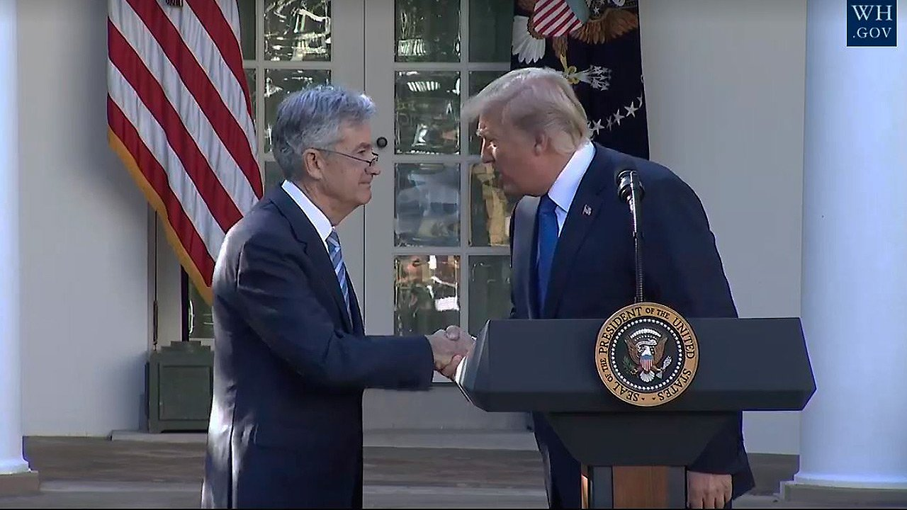 Trump nomina a Jerome Powell para presidir la Fed