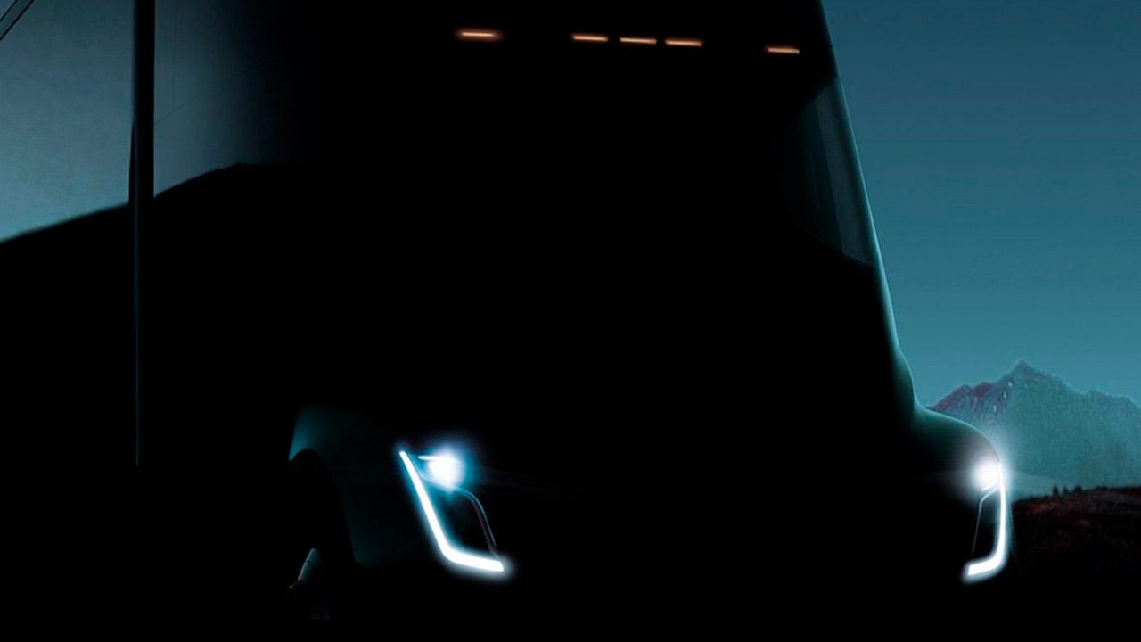 Tesla presentará su camión eléctrico en noviembre
