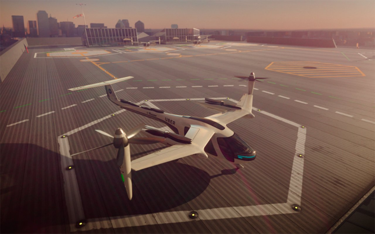 Uber quiere sus taxis voladores en los Olímpicos de Los Ángeles 2028