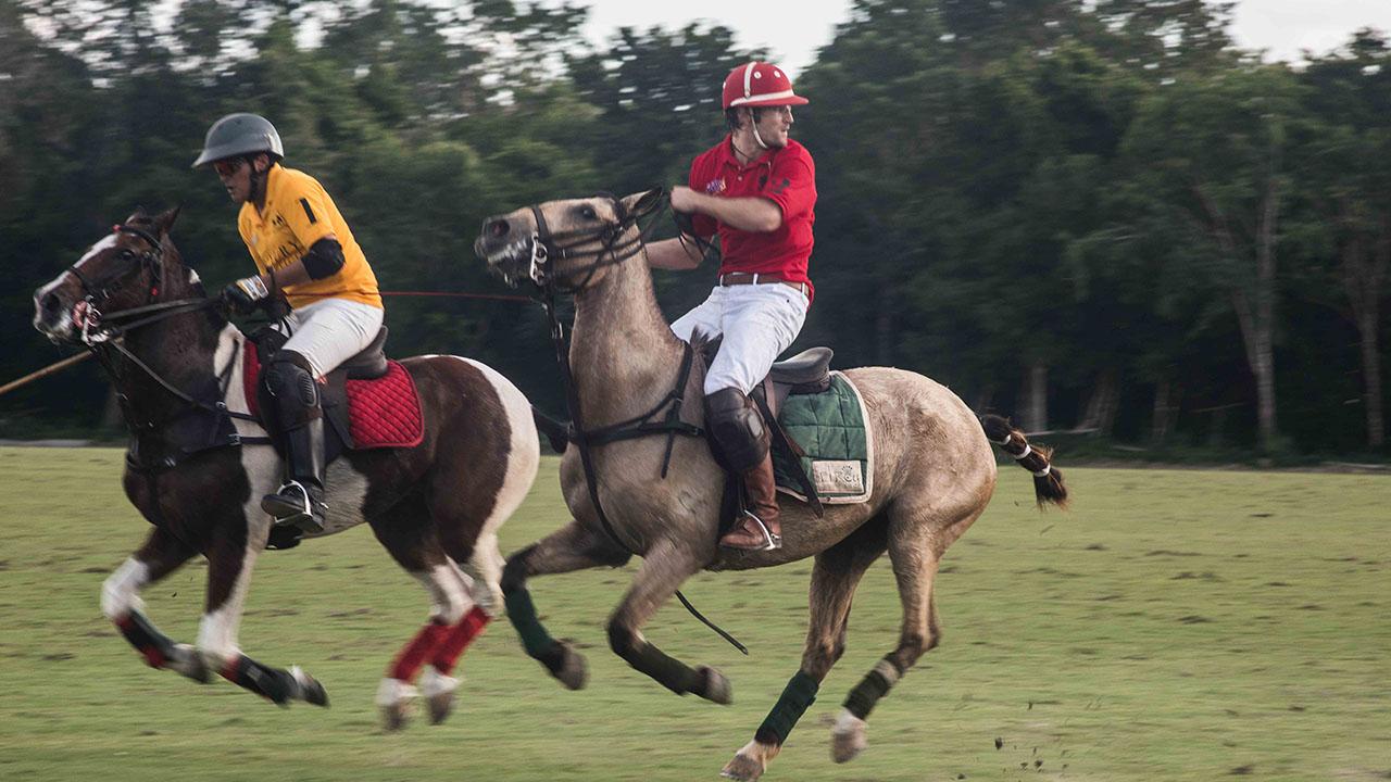 Celebran el Abierto de Polo del Caribe Mexicano