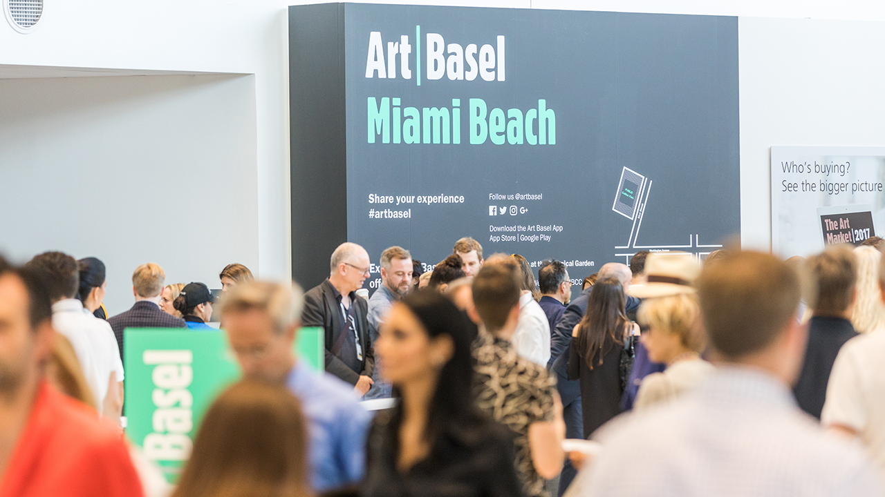 Inicia la Art Basel en Miami