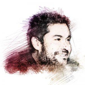 Alejandro Magallanes: Ilustración digital sobre una fotografía de Lalis Jímenez/ITESO.