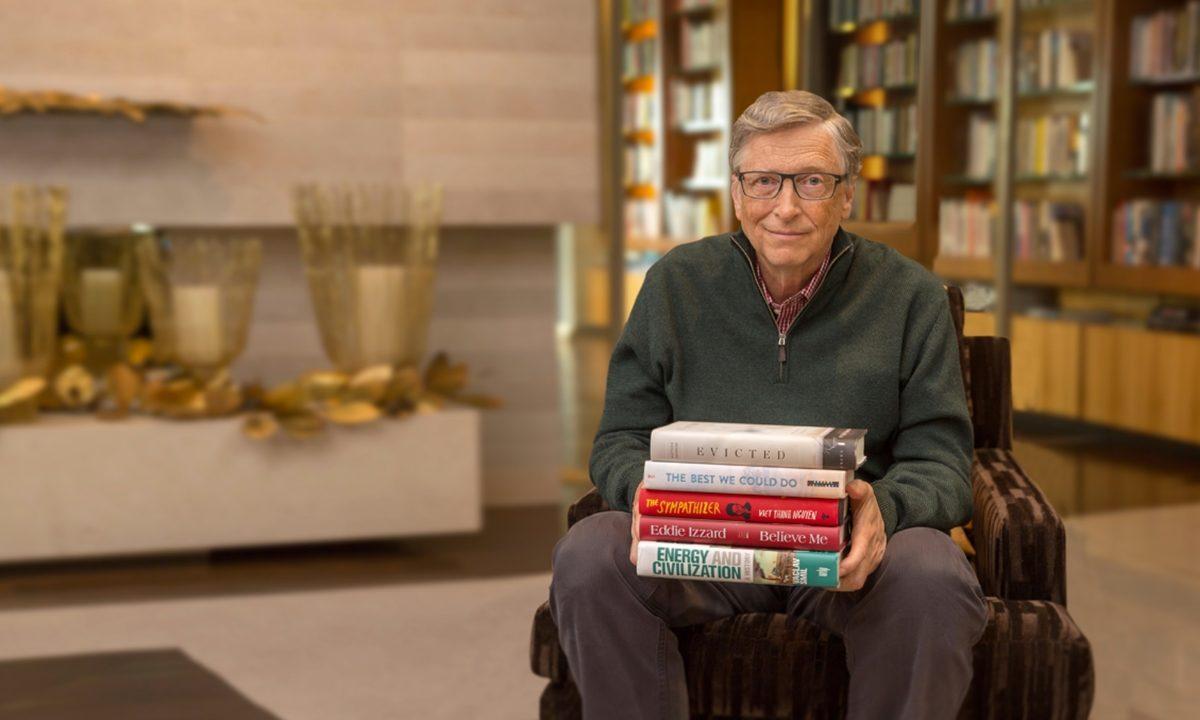 Estos son los 5 libros favoritos de Bill Gates en 2019