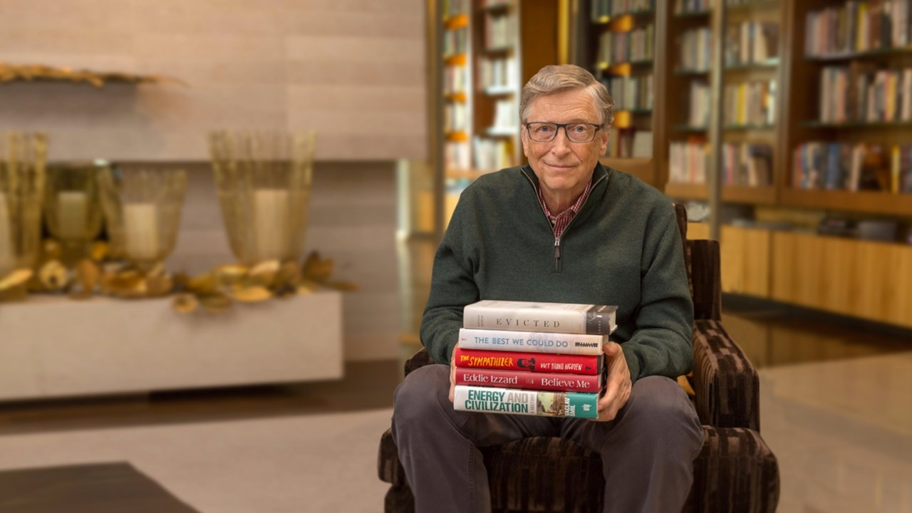 Cinco libros de 2017 recomendados por Bill Gates