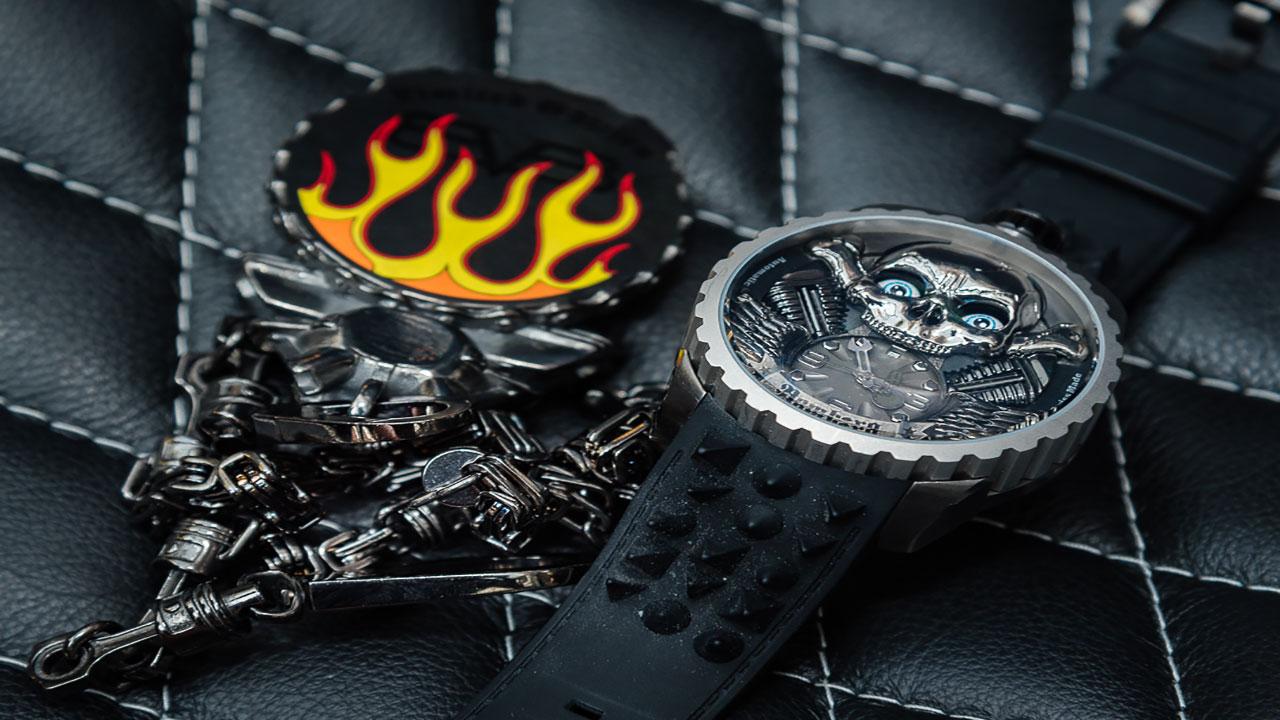 Skull Rider Collection, un homenaje al lujo y la velocidad