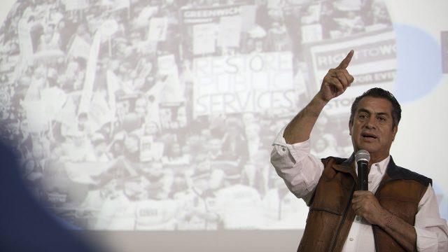 Ríos Piter con mayor representatividad de firmas de apoyo en estados: INE