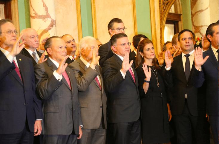 Empresarios juran trabajar para hacer de Dominicana un país competitivo