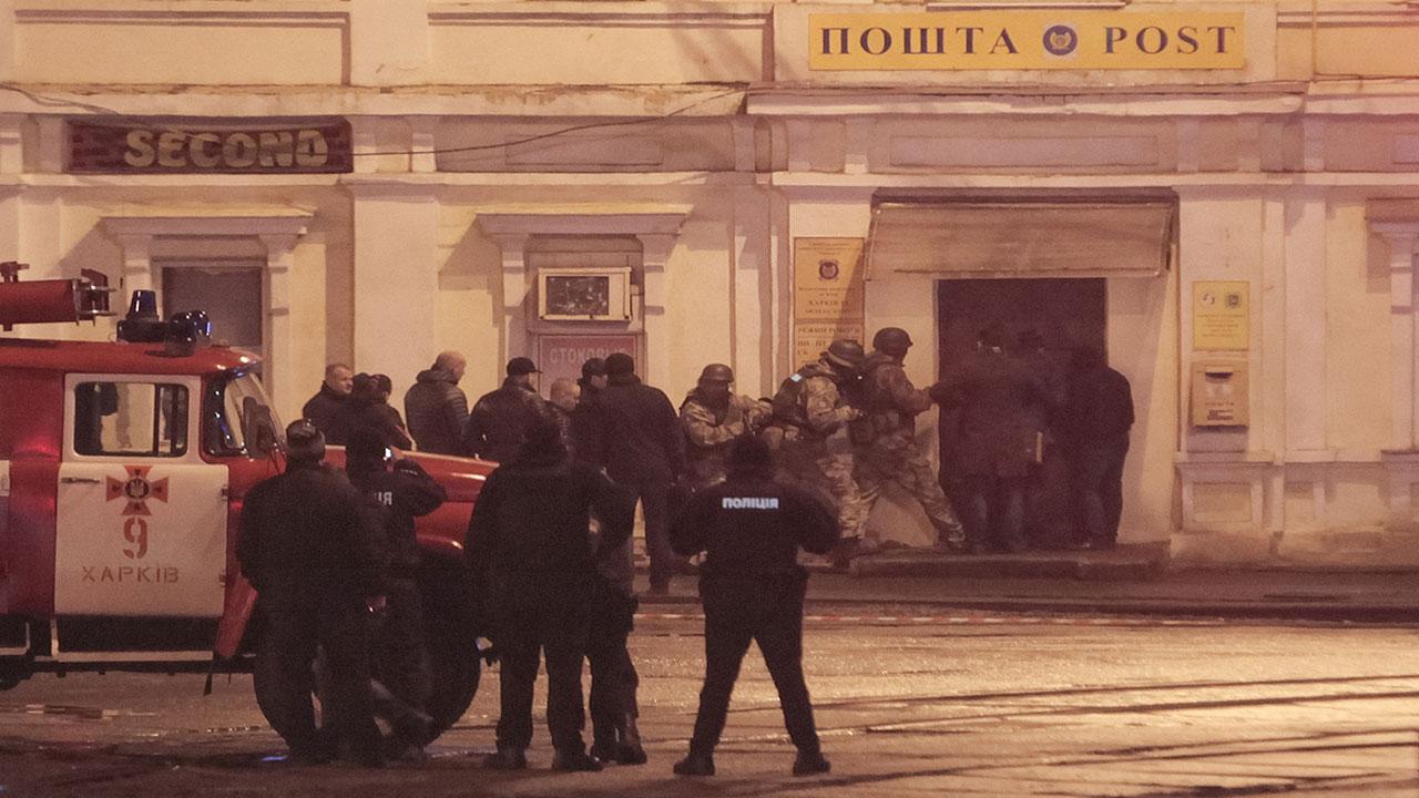 Rehenes ucranianos son liberados tras varias horas