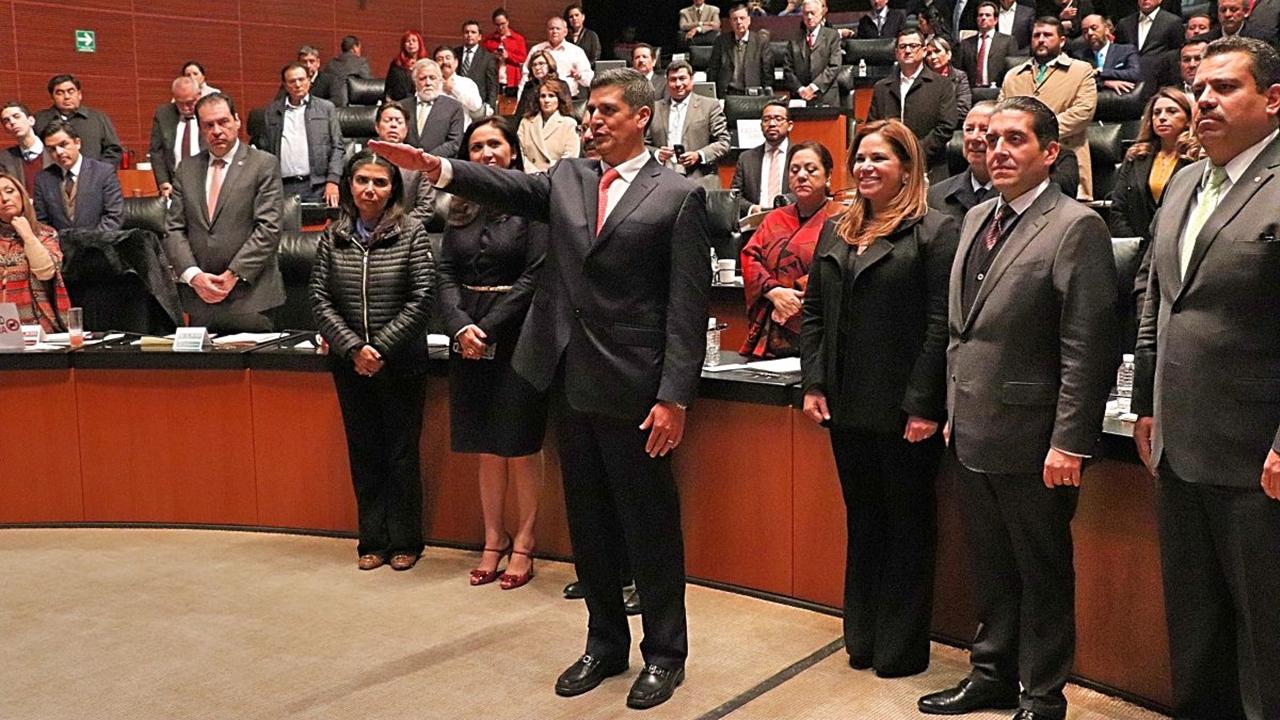 Senado designa a nuevo titular de la Fepade