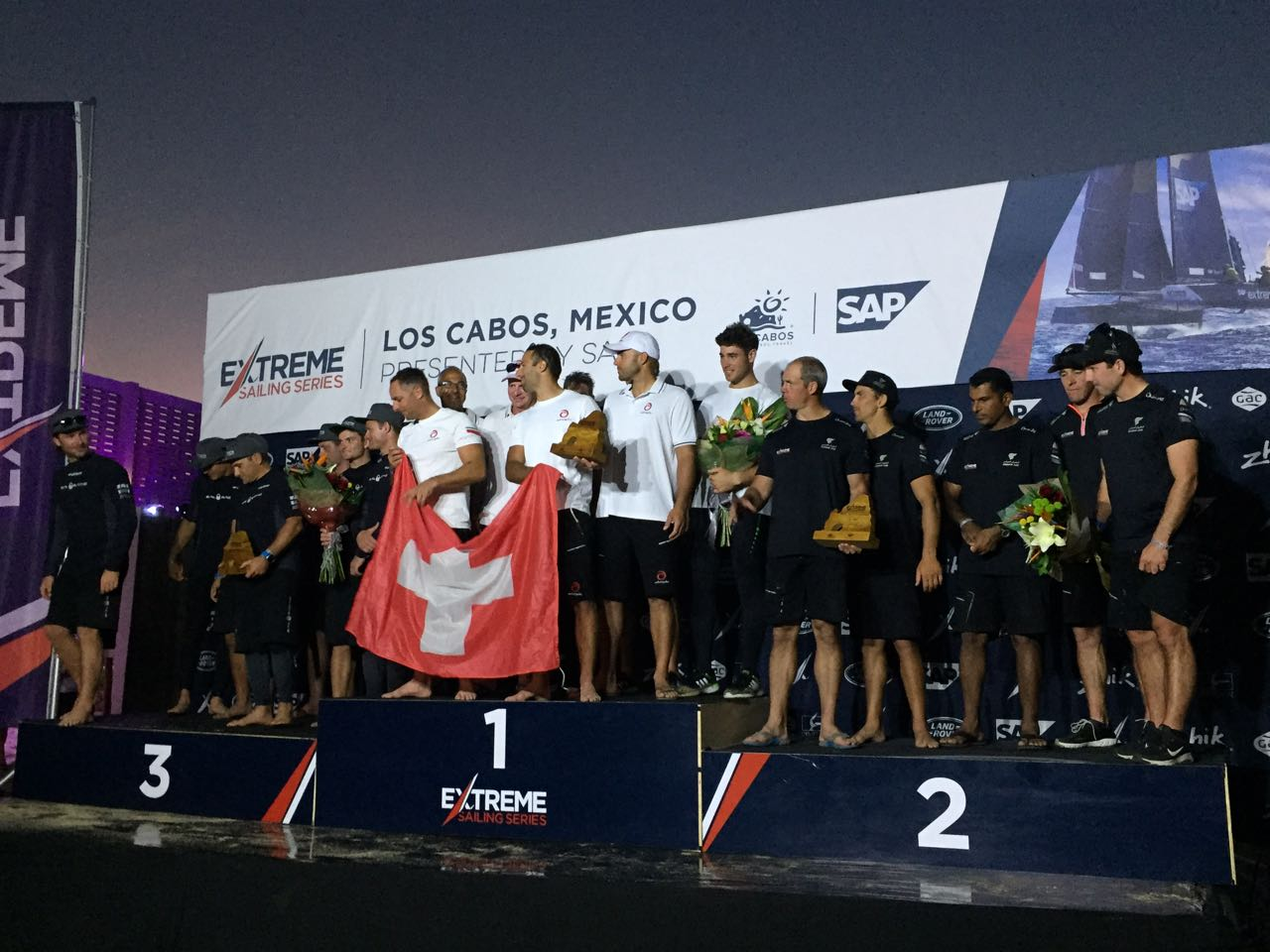 SAP Sailing Team es campeón de Extreme Sailing Series