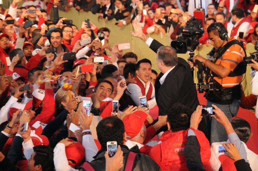 Meade promete combatir de manera frontal la corrupción